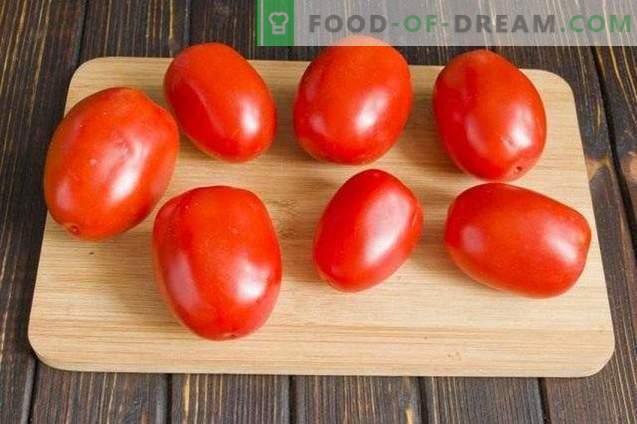 Marinerad Tomater Med Morot Topper