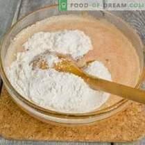 Magdalenas de chocolate blanco de calabaza