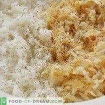 Selleriekoteletts mit Reis