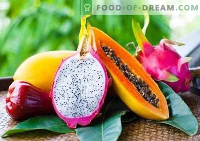 15 tropskih sadežev, ki jih morate vsekakor poskusiti