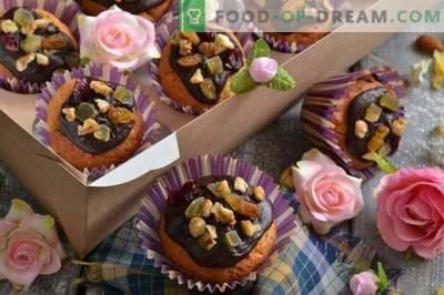 Muffins med egna händer - läckra sötsaker, gåvor