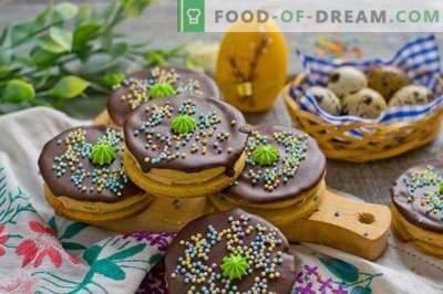 Biscuiți de casă pentru masa de Paște