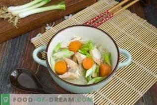 Китайска пилешка супа с Фунчоза