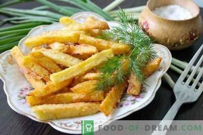 """Naminiai bulvytės yra skanesnės, natūralesnės ir pigesnės nei """"McDonalds"""". Kaip virti bulvytes namuose."""