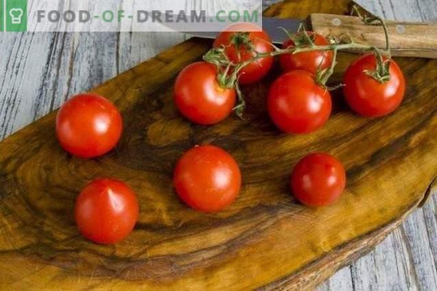 Salade de légumes marinés au piment et menthe pour l'hiver