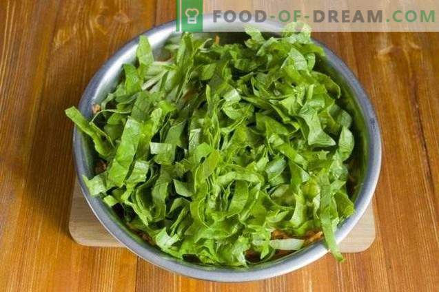 Salade de carême aux champignons grillés