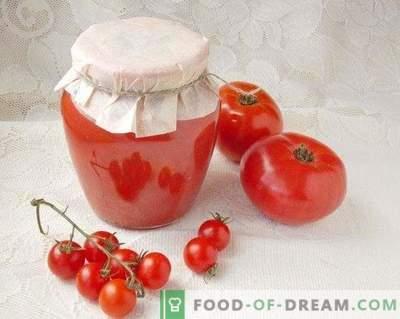 Tomater i sin egen juice