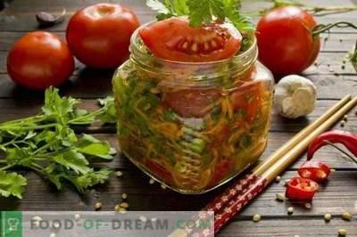 Koreanska snabba inlagda tomater