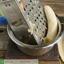 Magnifika ostkakor med banan-äppelkonfekt