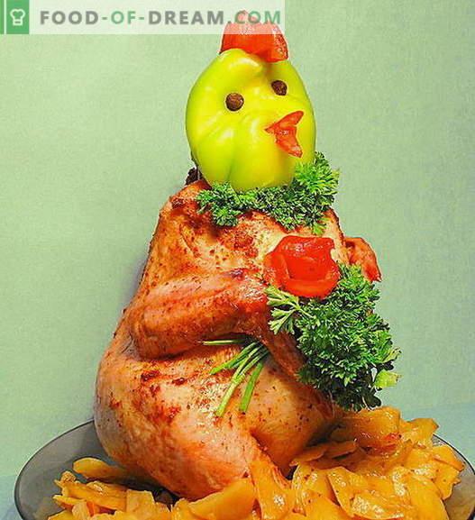 Chicken on the pot - die besten Rezepte. Wie man richtig und lecker Hühnchen auf der Bank kocht.