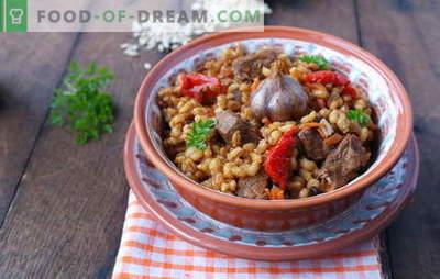 Miežių košė su mėsa yra skanus ir sveikas rusų virtuvės patiekalas. Geriausi miežių košė su mėsa receptai