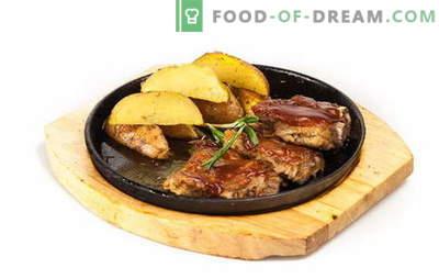 Svinjska rebra s krompirjem v pečici - mehka, sočna in okusna! Svinjska rebra s krompirjem v pečici: recepti