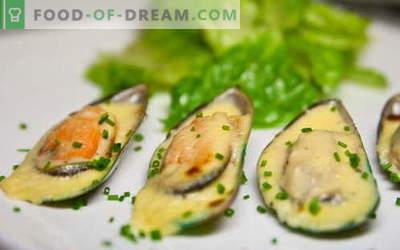 Dagnje so najboljši recepti. Kako kuhati školjke in okusno.