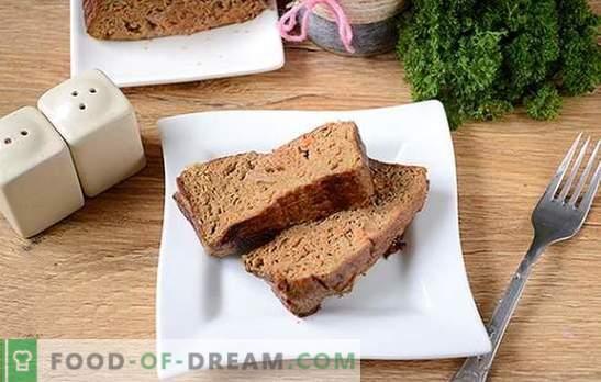 Суфле от черен дроб: деликатно, здравословно и диетично ястие. Авторска стъпка по стъпка фото рецепта на суфле от черен дроб от черен дроб от черен дроб