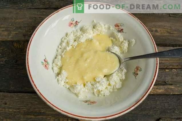 Fromage de Pâques au lait concentré et beurre de cacahuète