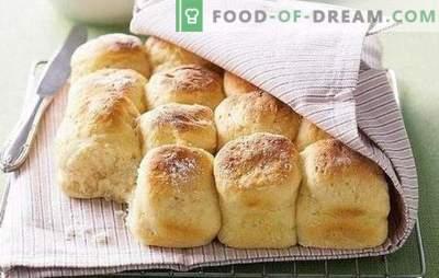 Ricetta per panini senza lievito: sono così veloci! Ricette facili e semplici per focacce senza lievito su latte, acqua, con uova, panna acida