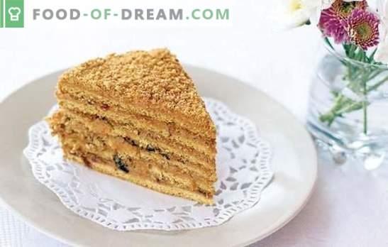 Recepten för Ryzhik-tårtan med vanilj är så olika, de är så coola! De mest älskling recepten av kakor