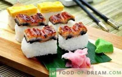 Hemligheter av orientaliskt kök: hur man lagar mat för rullar. Vad är skillnaden mellan rullar och sushi, hur man lagar ris för sushi