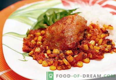 Mexikansk kyckling - de bästa recepten. Hur man lagar mat och kyckling mexikansk kyckling.