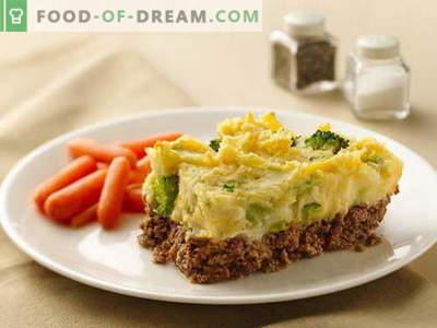 Gryta med kött - de bästa recepten. Hur till rätt och välsmakande köttgryta.