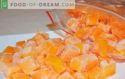 Congelar la calabaza en rodajas o en forma de puré de papas. Cómo congelar la calabaza cruda, al horno y qué preparar a partir de ella