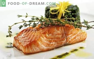 Јадења од розова лосос - одличен избор на вкусови. Рецепти на оригинални јадења од розово лосос: прво и второ, салати и предјадења