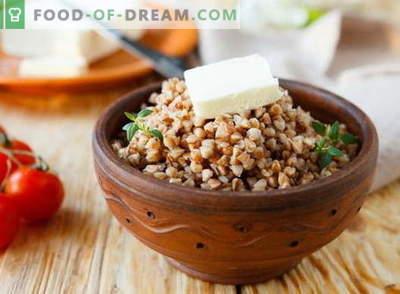 Griķu putra - labākās receptes. Kā pagatavot griķu putras.