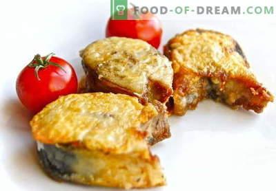 Carapau frito - as melhores receitas. Como corretamente e saboroso assar assado de cavala.
