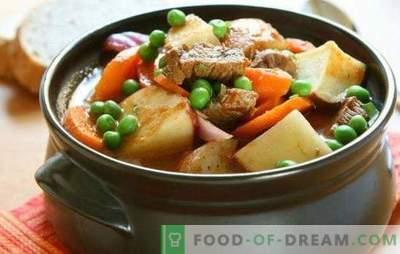 Govedina v loncu s krompirjem v pečici je hranilna in zelo okusna jed. 7 najboljših receptov govejega mesa v loncu s krompirjem v pečici