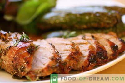 Carne de porc prăjită în tigaie - cele mai bune rețete. Cum să gătești în mod corect și gustos carnea de porc prăjită.