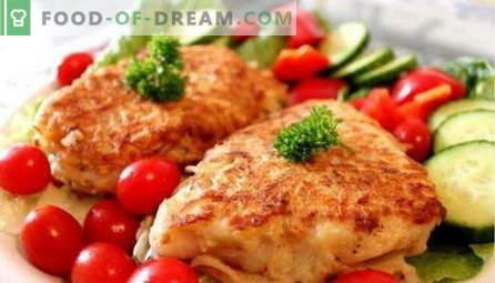 Ribe v testu - najboljši recepti. Kako pravilno in okusno kuhati ribe v testu.