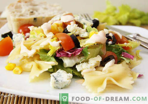 Insalata con olive - cinque migliori ricette. Come preparare correttamente e deliziosamente un'insalata con le olive.
