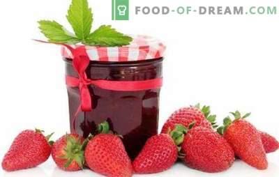 Gelée de fraises avec gélatine, pectine, agar-agar. Gelée de fraises avec pommes ou framboises: dessert ou préparation pour l'hiver