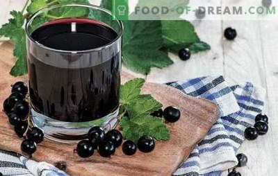 Mors från vinbär - laga mat på sommar och vinter! Recept av olika fruktdrycker från vinbär röda, svarta, frysta och färska