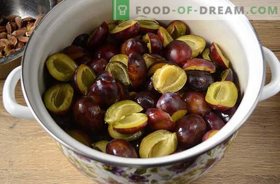 Confiture de prunes - la plus facile et la plus délicieuse! Photo-recette pas à pas pour la confiture de hongrois