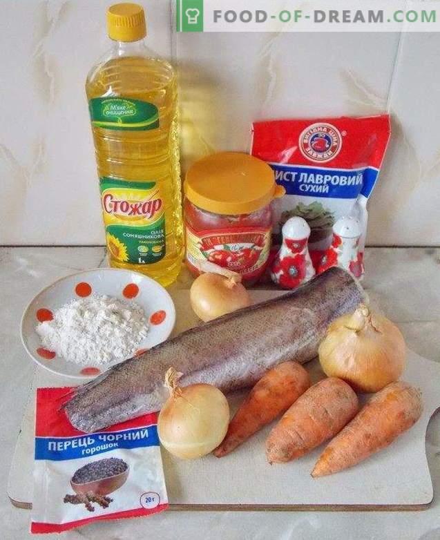 Fish marinated