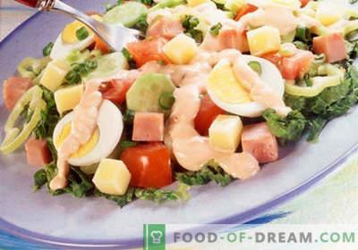 Kock sallad - ett urval av de bästa recepten. Hur man gör rätt och god mat laga kocken.