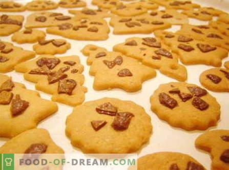 Küpsiste retseptid: kaerahelbed, sidrun, ingver, mandlid, pähklid