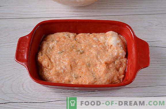 Casserole de carottes: brillante et savoureuse, presque comme un gâteau! Recette photo par auteur de la cocotte de carottes utile de l'auteur