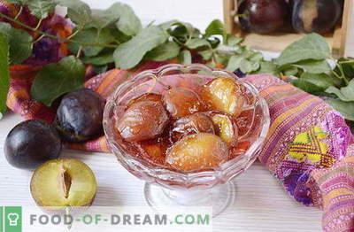 Confiture originale de prunes aux épices