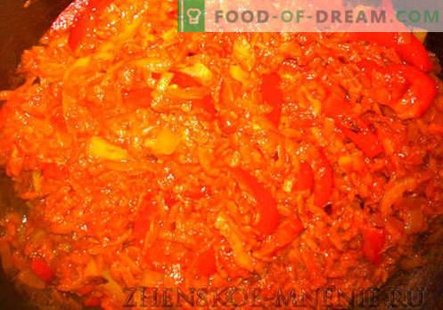Sopa con frijoles rústicos - receta con fotos y descripción paso a paso