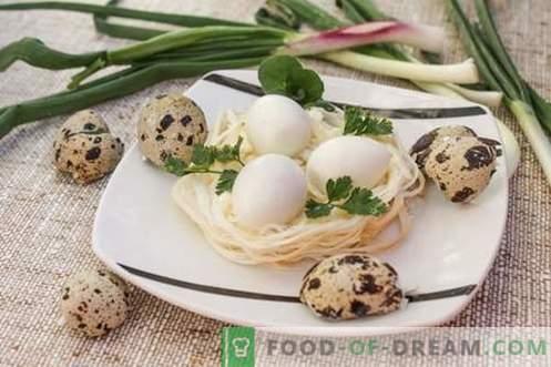 Quail Nests Snack - en semester för varje dag