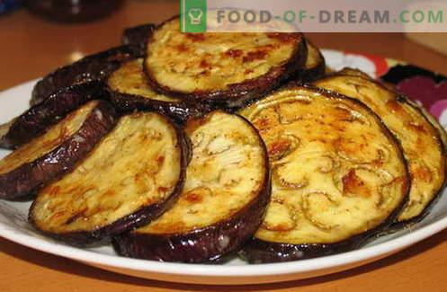 Aubergine med vitlök - de bästa recepten. Hur till ordentligt och gott kok aubergine med vitlök.