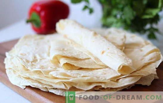 Armeniska pitabröd - recept på de bästa rätterna. Vad kan kokas från armeniska lavash? Recept för semester och vardag: bara utsökt