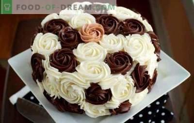 Кремот за декорација на торти: Најдобрите и оригинални рецепти. Како да се направи секој тип на торта декорација крем: чекор по чекор инструкции