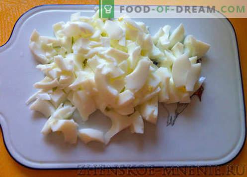 Ananasalat - ett recept med foton och steg för steg beskrivning