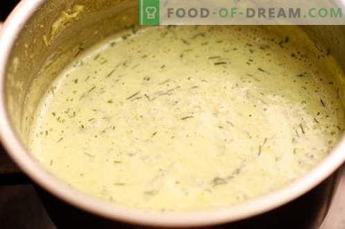 Creamsås - de bästa recepten. Så till rätt och välsmakande gräddsås.