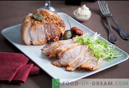 Bakad skinka i en långsam spis - de bästa recepten. Hur man ska ordentligt och gott kokskinka i en multicooker hemma.