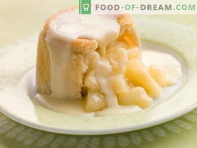 Apple pudingas - geriausi receptai. Kaip tinkamai ir skaniai virti obuolių pudingą.