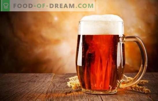 Röd kvass är en uppfriskande drink. Recept och hemligheter att laga rött kvass från malt, bär, betor, bröd och kakor
